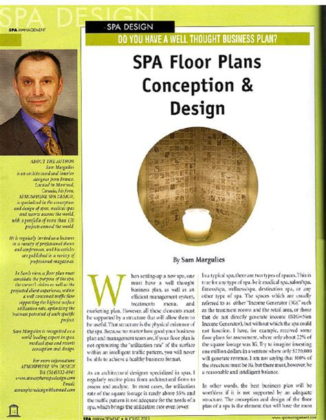 design management articles articles atmosphere spa design