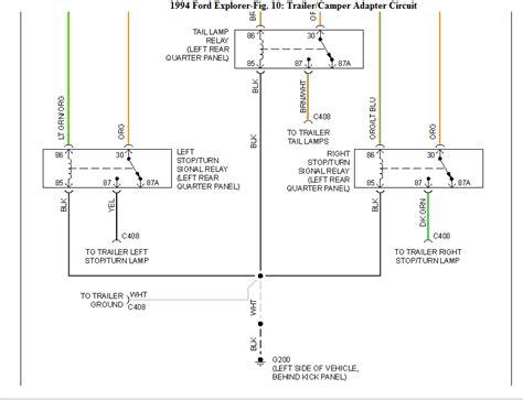 boat trailer tail lights dont work i have a 94 explorer limited boat trailer lights won t