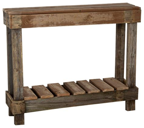 Farmhouse Console Table Barnwood Entry Table Farmhouse Console Tables By Hutson Designs