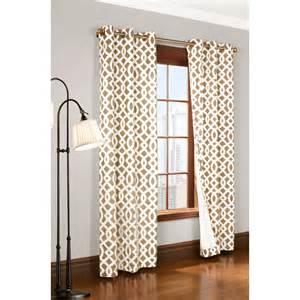 trellis curtain thermalogic weathermate trellis curtains 80x63 quot grommet