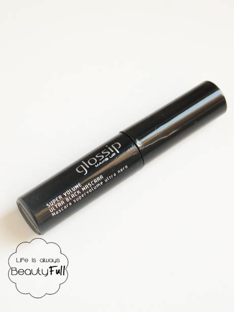 Molto Ultra Black is always beautyfull glossip makeup