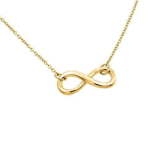 infinity pendant review sterling silver gold infinity pendant necklace sstp01373gp