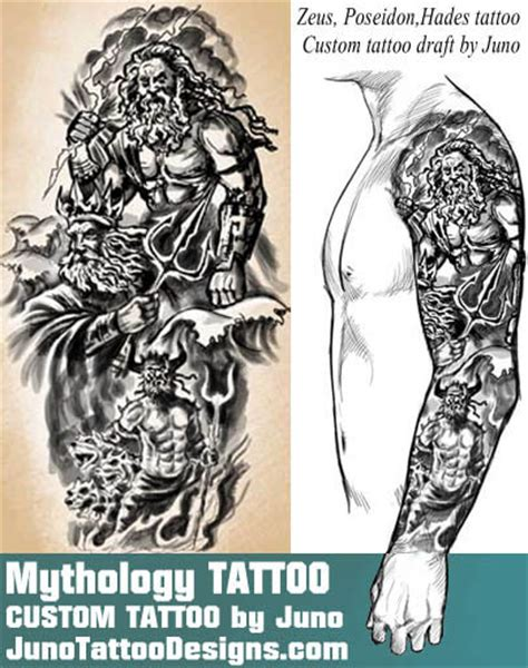 greek god tattoo designs tattoos and designs create a designer