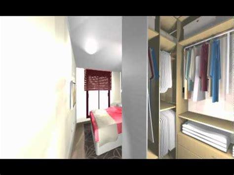 vestidor detras de la cama medidas un gran vestidor sin puertas en dormitorio arredo mov