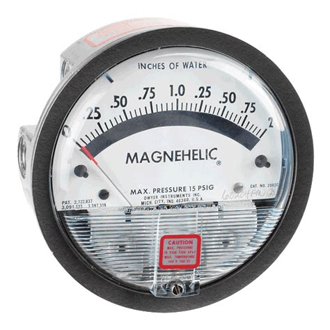 Series 2002d Magnehelic Differential Pressure Gages series 2000 magnehelic 174 differential pressure gage dwyer instruments