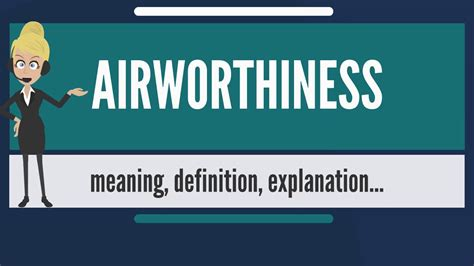 design standards meaning what is airworthiness what does airworthiness mean