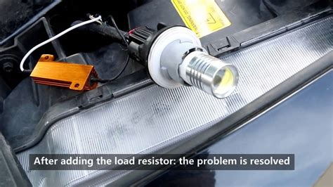 do i need a resistor for led headlights why do you need load resistors for switchback led bulbs