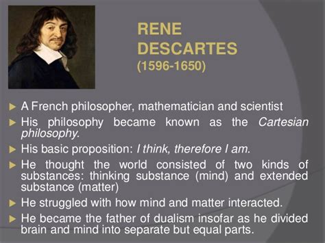 descartes mind and matter educational perspective of idealism by anwarullah