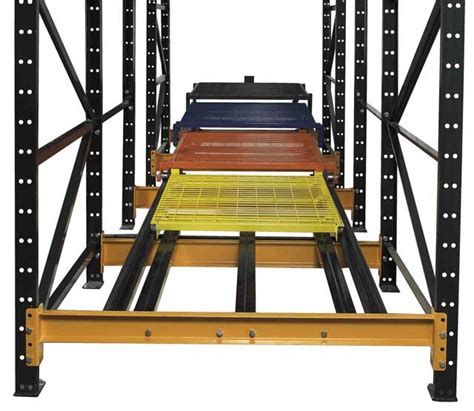 push back racking industrial push back rack systems w