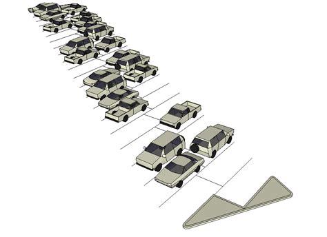 disegni di librerie blocchi cad e librerie arredo urbano parcheggio e