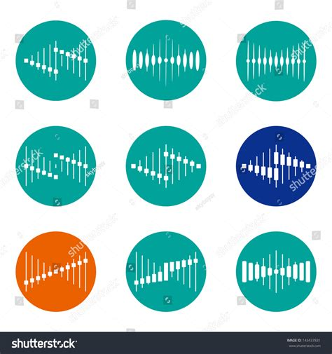 wave pattern of organization design vector wave logo template icon stock vector