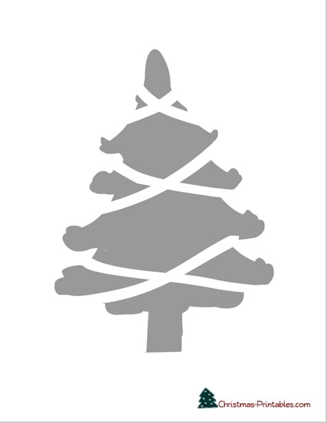 christmas tree 18 in stencil search results for drawing stencils calendar 2015