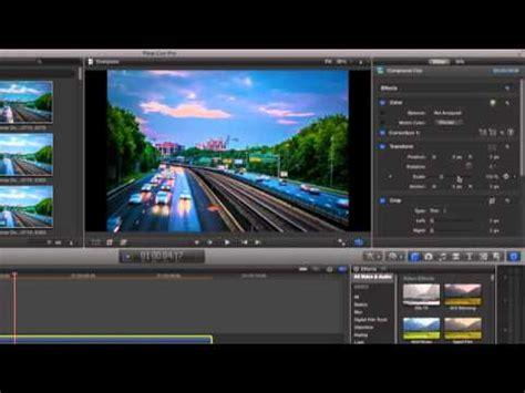 final cut pro time lapse apple final cut pro x for time lapse video on a mac