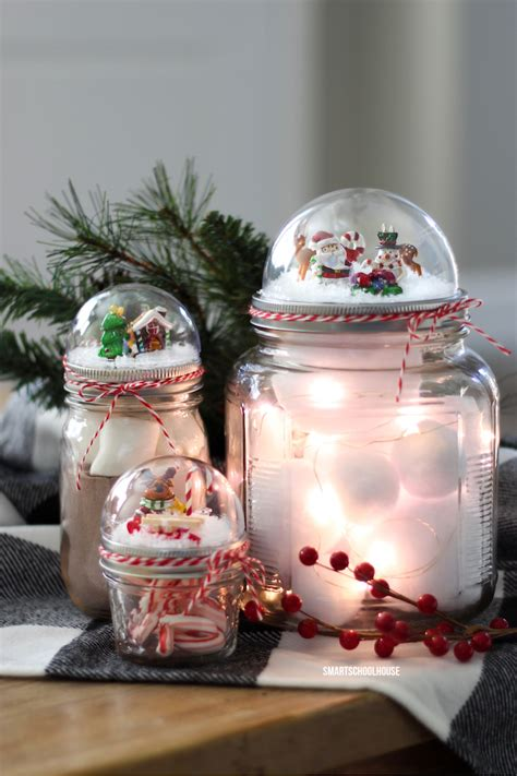 jar christmas gift ideas jar lid snow globe page 2 of 2 smart school house