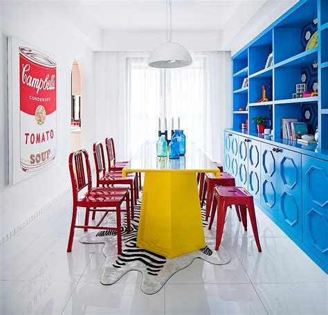 bold dining room colors visual feast 25 eclectic dining rooms drenched in colorful brilliance