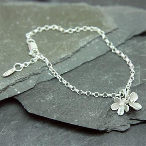 cherry bracelet cherry blossom bracelet by gabriella casemore jewellery