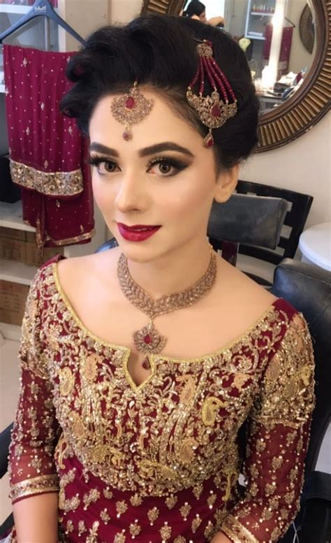 desi pakistani hairstyles pakistani bridal pinteres