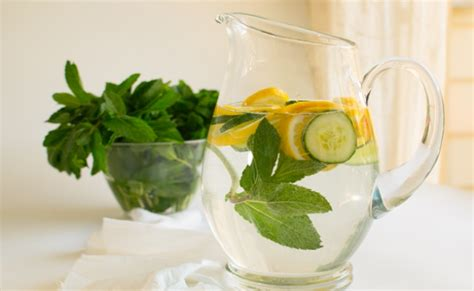 Cucumber And Mint Water Detox by 8 Detox Water Recipes That Helps To Flush Out Toxins From