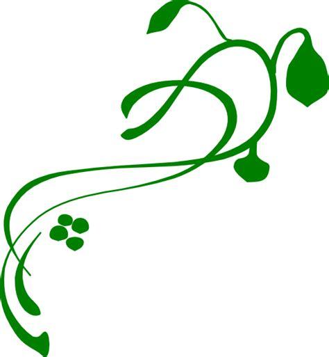 Daun Rambat Merambat Artificial Leaf Leaves Climbing Garland 3 green swirl vine clip at clker vector clip royalty free domain