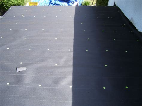 nail pattern roof felt roofing paper install your shingles it can help