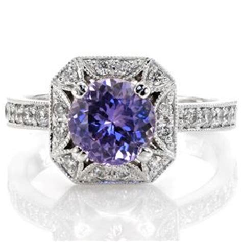 Benih Bunga Lotus 7 Sapphire 17 Best Images About Purple Sapphire Engagement Rings On