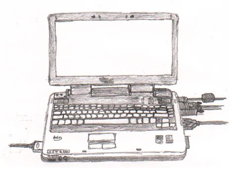 sketchbook laptop my laptop sketch by davince21 on deviantart