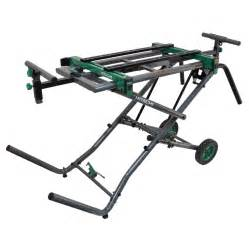 Lowes Work Benches Shop Hitachi Steel Rolling Miter Saw Stand At Lowes Com