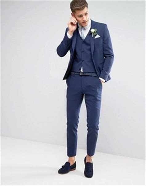 Jaket Jas Blazer Casual Biru Navy s suits s designer tailored suits asos