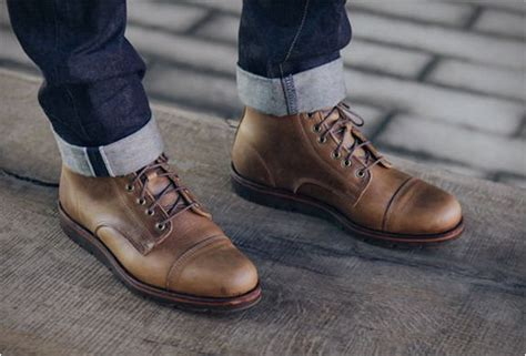 Handmade Leather Work Boots - custom leather work boots rancourt x huckberry boot
