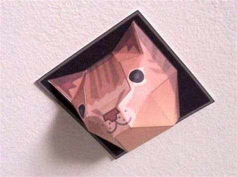 Ceiling Cat Papercraft - 2009 cat paper crafts