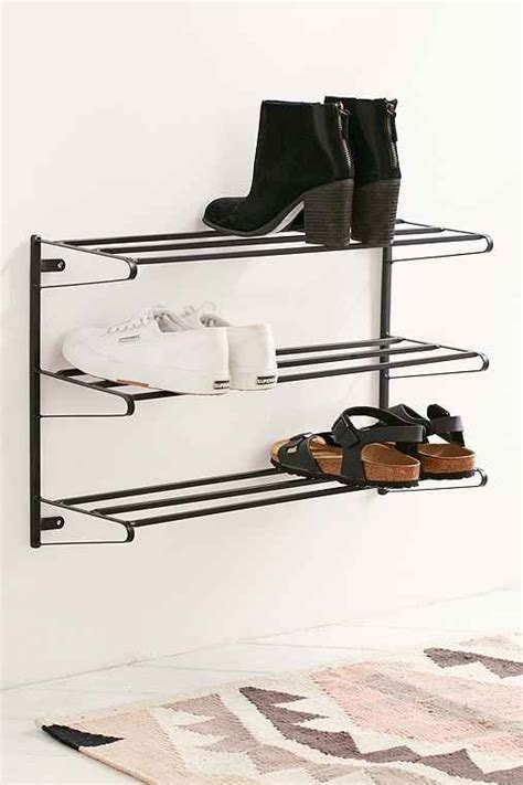 Wall Mount Shoe Storage 1000 Ideas About Wall Mounted Shoe Rack On