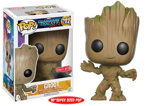 Funko Pop Guadian Of The Galaxy 2 Groot funko pop vinyls guardians of the galaxy vol 2 exclusives marvel news