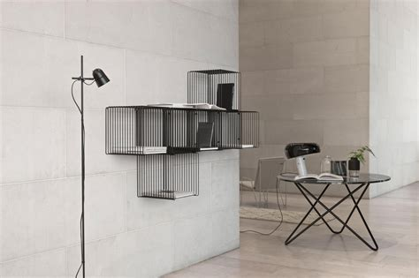 panton wire black shelving modules from montana m 248 bler