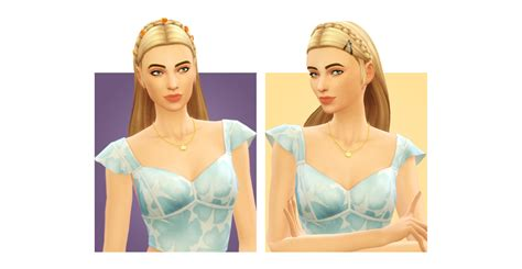 my sims 4 blog labels my sims 4 blog link and zelda hair accessories by