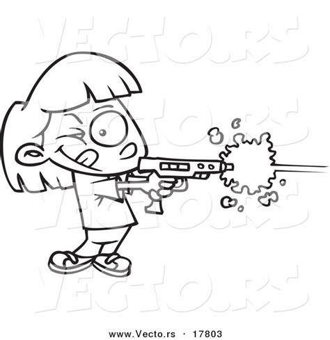 laser gun coloring page laser tag clipart 44
