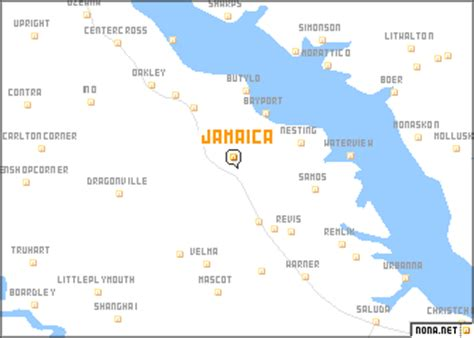 map us jamaica jamaica united states usa map nona net