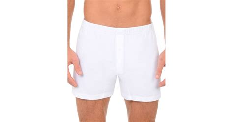 Sweater Boxer 02 Zemba Clothing 2xist pima knit boxers in white for lyst