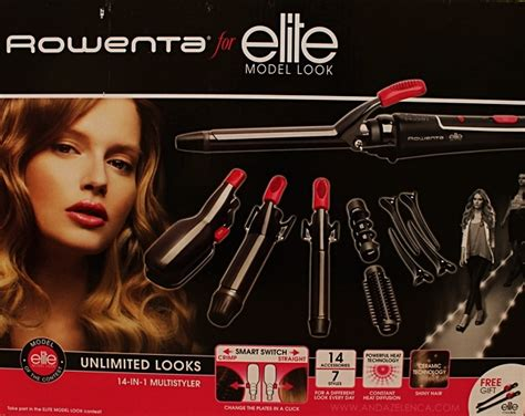 rowenta for elite model look 14 in 1 multi styler anda zelenca