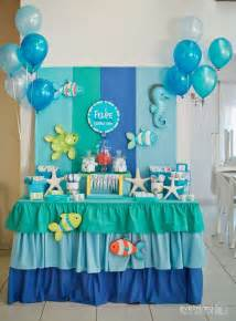 Sea Decorations For Home under the sea birthday party ideas
