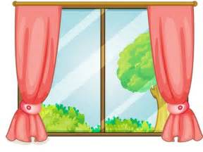 Door Window Curtain Ideas Curtain Clipart Window Pencil And In Color