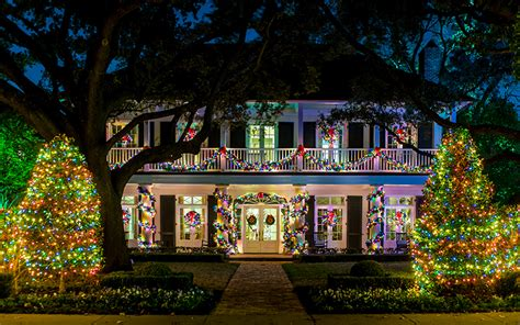 lights highland park the best light displays in dfw for 2015