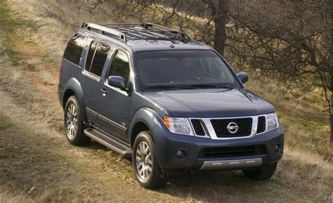 nissan 2008 pathfinder car and driver