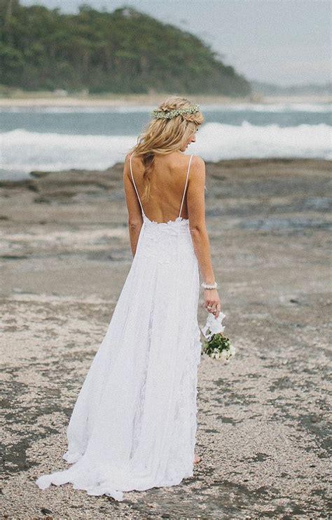simple  flowy beach wedding dress   pinterest wedding shot glasses  wedding ideas