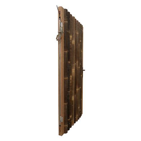 jalousie 90 x 180 black bamboo gate 90 x 180 cm