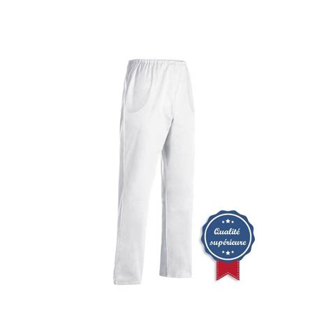 pantalon de cuisine pas cher pantalon de cuisine blanc pas cher 100 coton chlorable