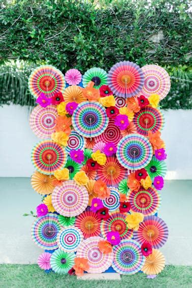 colorful wedding colorful wedding ideas inspired by mexico every last detail