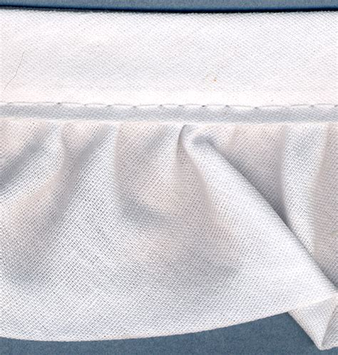 ruffled quilt binding 2 quot wide 15 yards white jo