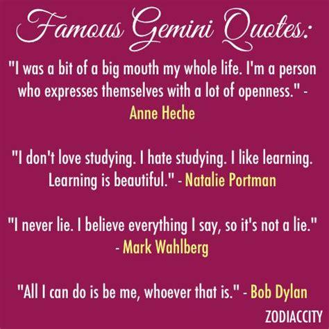 famous gemini quotes quotesgram