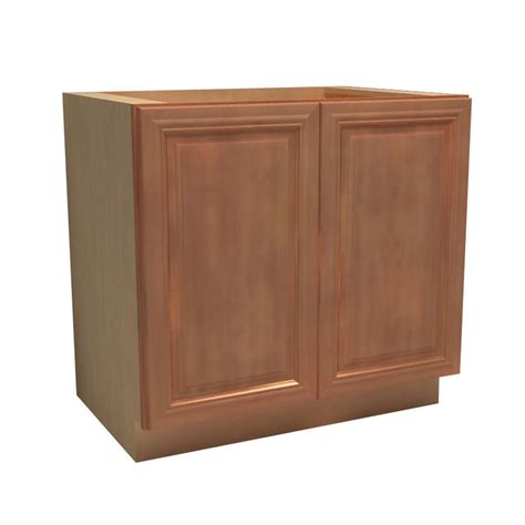 home depot unfinished oak kitchen cabinets assembled 36x34 5x24 in base kitchen cabinet in