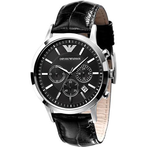 emporio armani classic chronograph mens ar2434